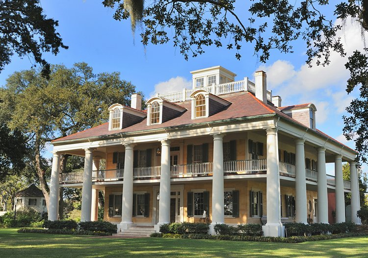 Southern plantation house plans plantation house plans Plantation style house