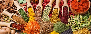 A bounty of spices will add flavor to dishes without salt.