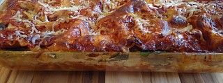 This lasagna is even better with homemade, low-sodium ricotta cheese.
