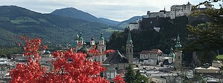 "Salzburg is a ""Baroque jewel on the edge of the Alps."""