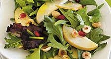 Enjoy this Asian pear salad during the dark Northwest fall months.