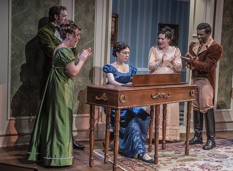 Miss Bennet Christmas At Pemberley.Taproot Theatre S Miss Bennet Christmas At Pemberley Is A