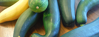 This time of the year in the Pacific Northwest yields a bounty of zucchini from the garden. Don't stress the extras. You can use them in a multitude of low-sodium recipes.