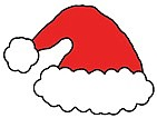 Santa's hat, but where is he?