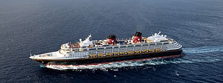 The Disney Wonder received the highest grade of Disney Cruise Line's four ships. Credit: Todd Anderson.