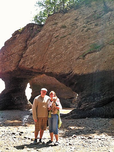Bruce and Sharon Gallagher at Hopewell 
