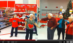 Senior Citizen Flash Mob at the Local Target - Lawrence,KS - Meadowlark Estates