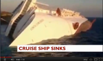 At least six people are dead after a luxury cruise ship with 4,200 people aboard ran aground off the Tuscan coast, Italian media reported.